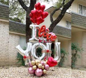 globosyalegria.com ballons bouquet