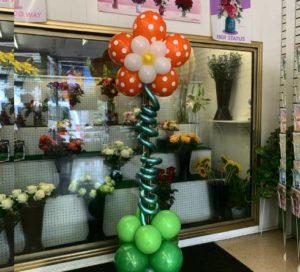 columns balloons centerpiece globosyalegria.com ballons bouquet