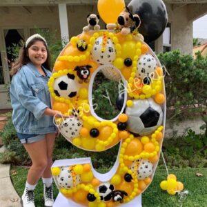 Balloon Mosaic Globosyalegria.com Bouquets Balloon Decoration California