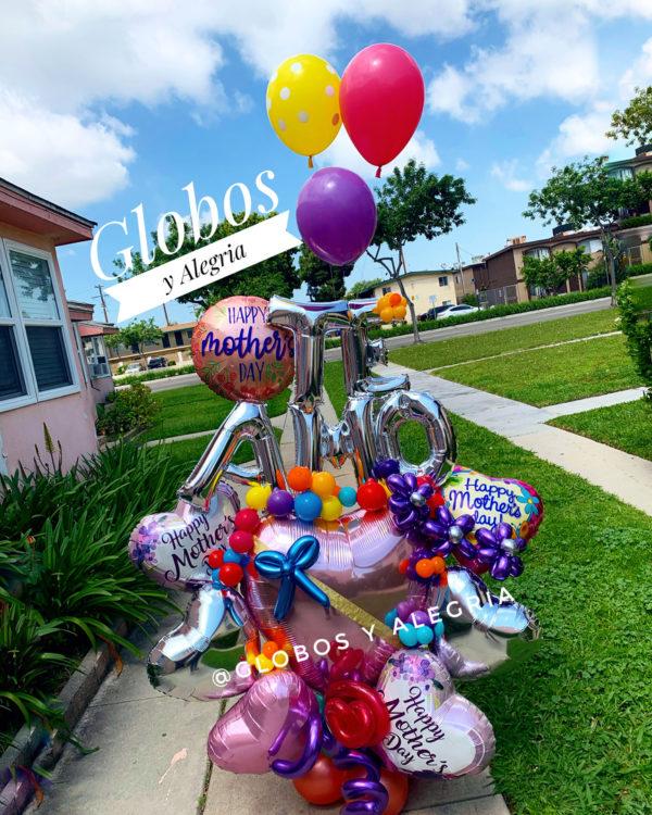 Bouquet Te Amo Mom 141.90 Globosyalegria.com Bouquets Balloon Decoration California