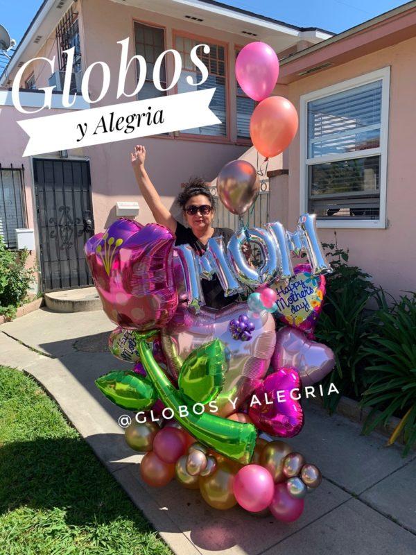 Bouquet Tulio 154.90 Globosyalegria.com Bouquets Balloon Decoration California