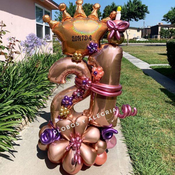 Bouquet Emperatriz Number